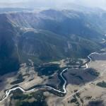 """Chuya river runs through the pass - Река Чуя бежит через """"горло"""""""