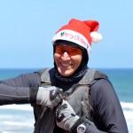 Happy Santa gets to fly - Счастливый Санта собирается в полёт