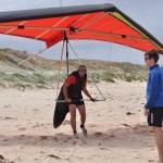 Artur also can land on the beach - Артур также может приземляться и на пляж