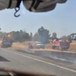 Fire on the way to Victoria - Пожары по пути в Викторию