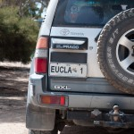 Eucla's local car - Местная машина