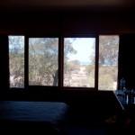 Our room's view to the ocean - Наш вид из окна на океан