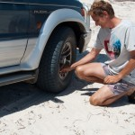 Flattening tyres - Стравливаем воздух