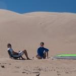 Gerolf, Anton and high sand dunes - Герольф, Антон и высокие песчаные дюны