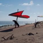 Gerolf behind Gunyah Beach - Герольф позади пляжа Хижины Аборигенов