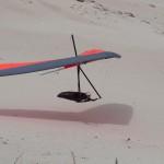 Low over the dune of Long Beach - Низко над дюной Длинного пляжа