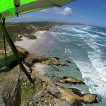Rocky spurs protrude into the ocean - Каменные отроги выдаются в океан