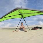 Very well banaced glider ~ Прекрасно сбалансированный дельтаплан