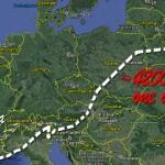 Long way from Moscow to Dune Du Pyla ~ Долгий путь от Москвы до Дюны