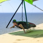 Andrey playing with the sand ~ Андрюха играет с песком