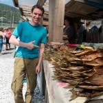 Andrey impressed by tasty fish ~ Андрюха впечатлён вкуснейшей рыбой
