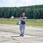 It took us two hours to clean 300 meters of runway ~ Почистить 300 метров взлётки заняло пару часов