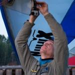 Andrey films flights of his students with gopro ~ Андрюха снимает полёты учлётов на гопро
