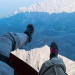 Our feet above Tunka range ~ Наши ноги над гольцами