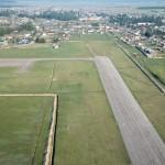 Runway of Kyren airport ~ Взлётка аэропорта Кырена