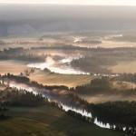 Irkut river. Early morning. ~ Раннее утро над рекой Иркут