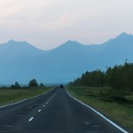 """Driving to our motel after a flying day ~ Едем """"домой"""" после полётов"""