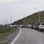 Endless queue before the ferry ~ Бесконечная очередь перед паромом