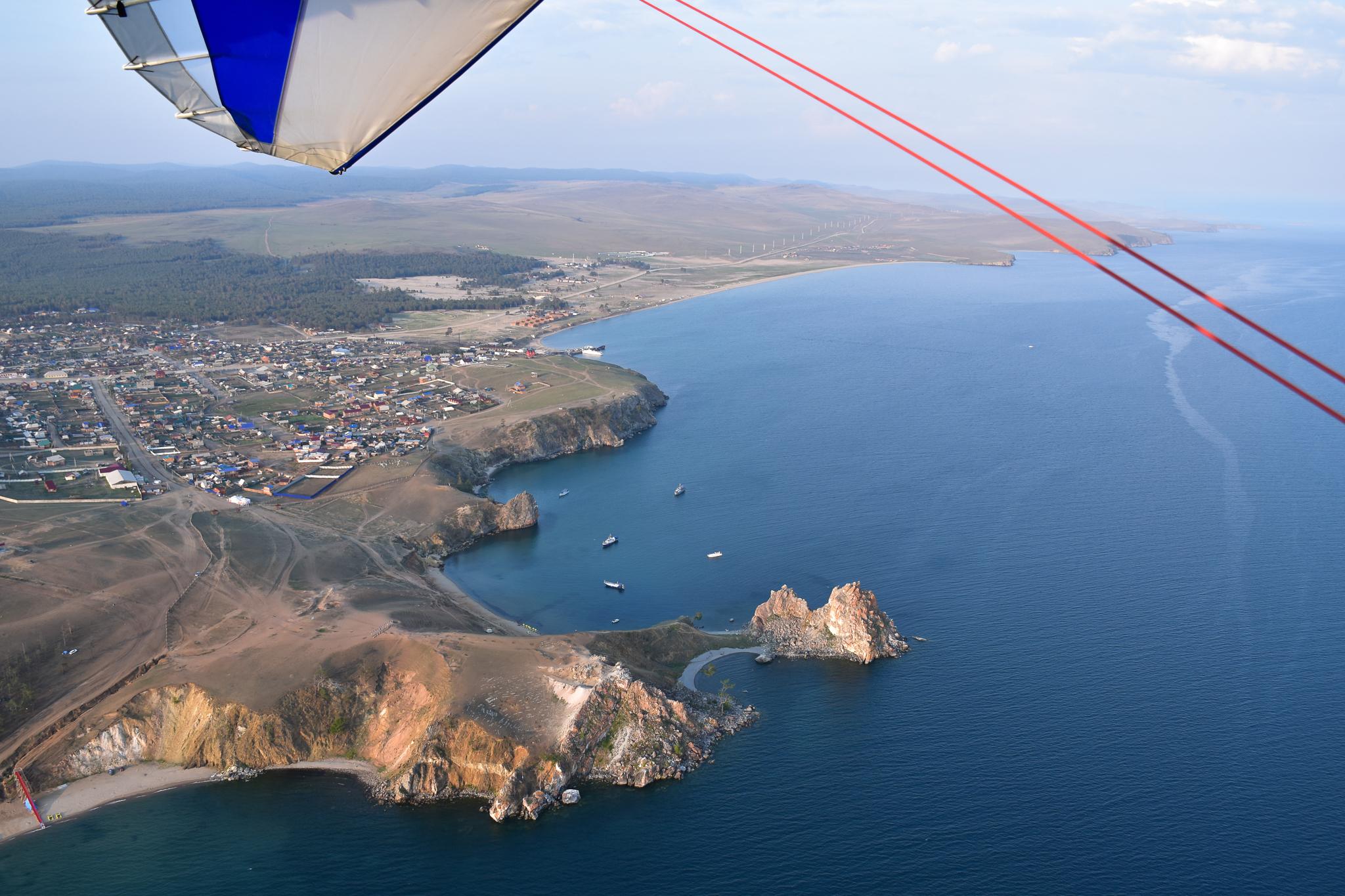 Flying expedition to Baikal, Part 2 — Olkhon Island - Лётная экспедиция в Прибайкалье, ч.2 - Остров Ольхон
