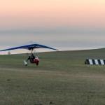 Grassy runway of Kharantsy airport ~ Грунтовая взлётка аэропорта Харанцы