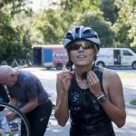 Swim to Bike transition ~ Переход с плавания на велосипед