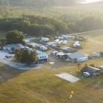 Club house, hangars and trailers at Quest, 2017 ~ Клабхаус, ангары и трейлеры Квеста, 2017