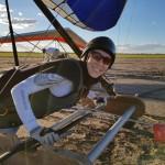 A photo for those who are glad to see me flying again ~ Фотка для тех, кто рад видеть меня снова летающей на дельте!