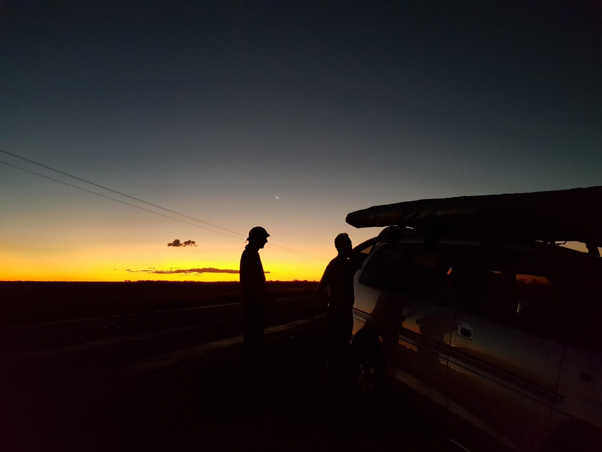 Retrieve after sunset ~ Подбор на закате