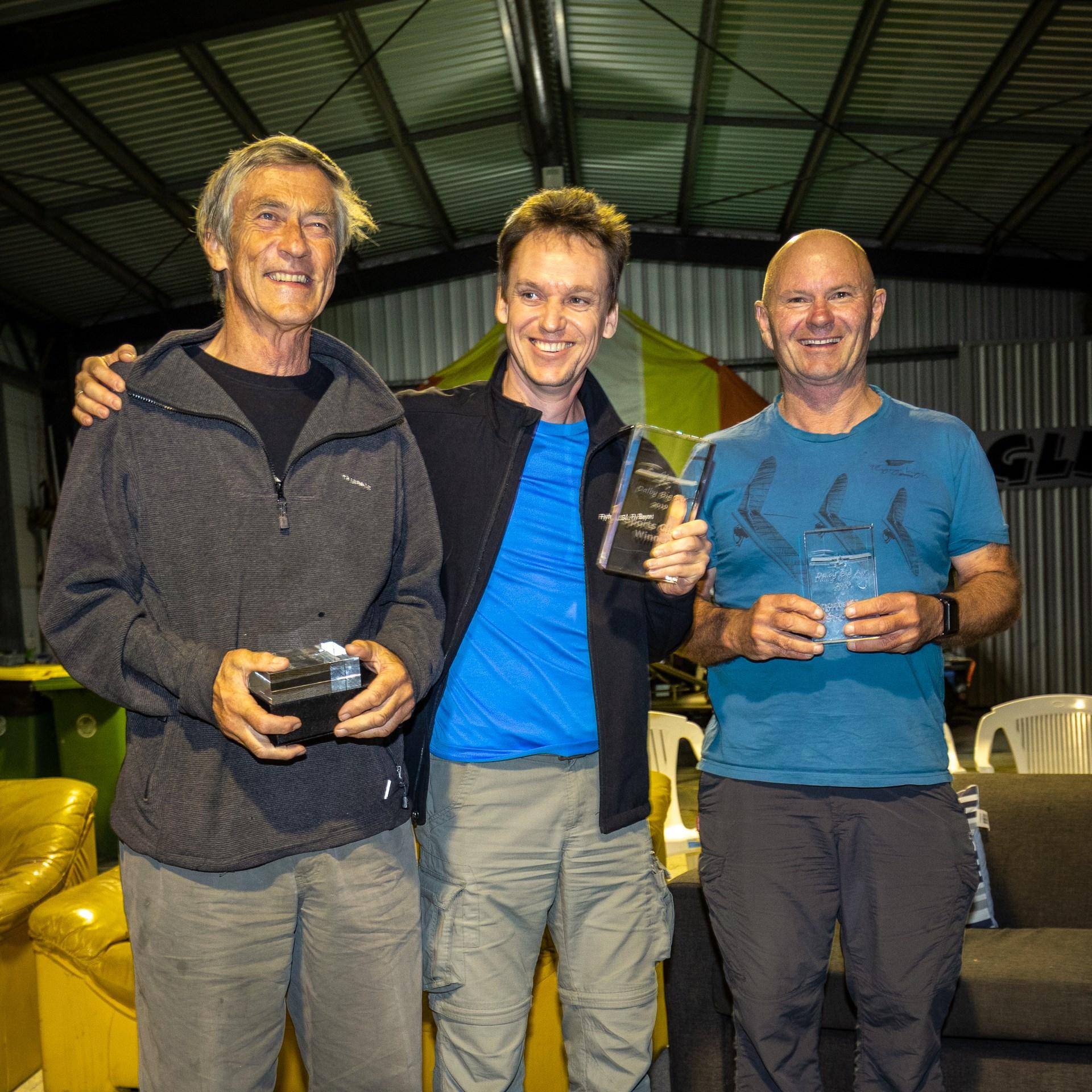 Alastair, Andrey and Hugh at the award ceremony ~ Аластэир, Андрей и Хью на церемонии награждения