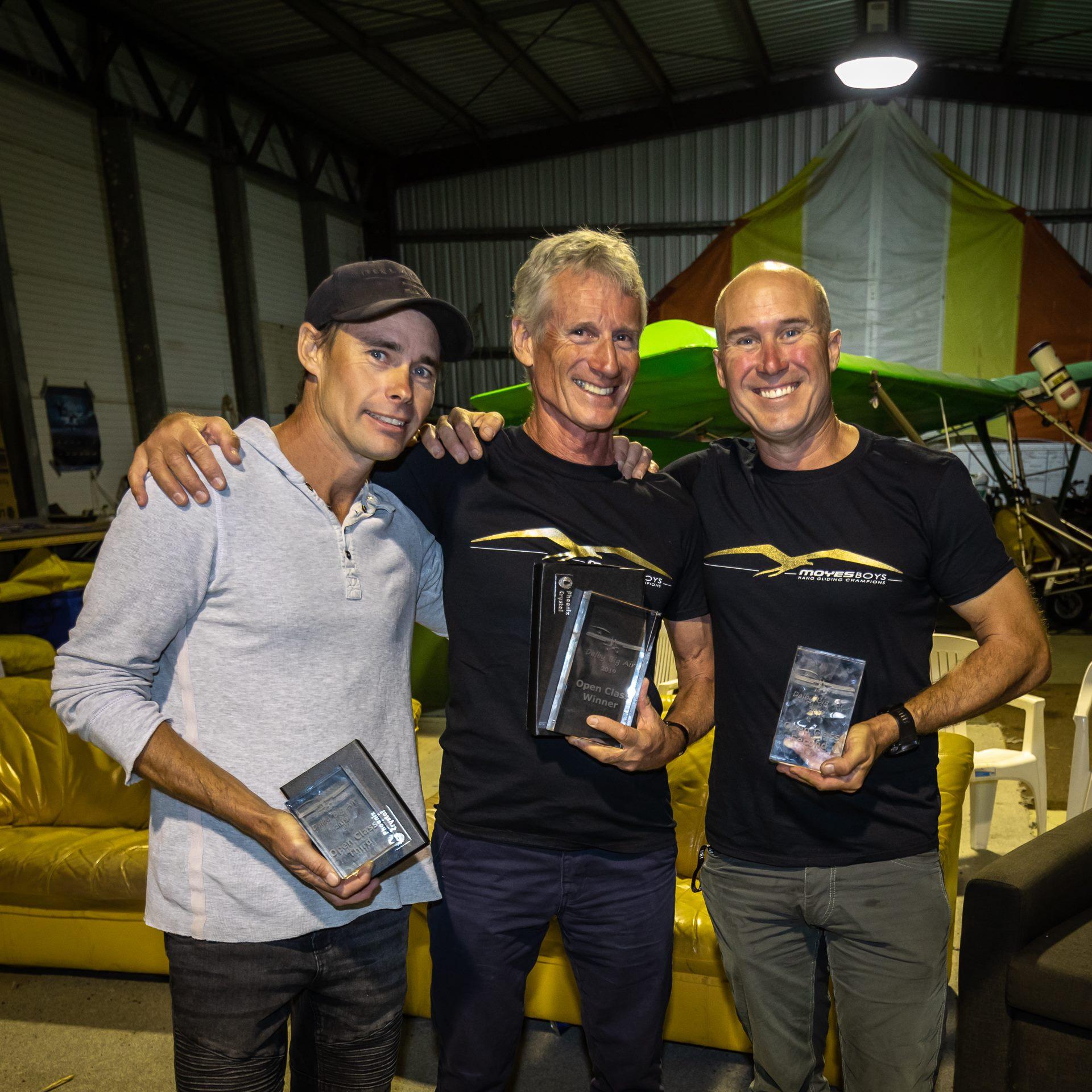 Adam, Steve and Rohan at the award ceremony ~ Адам, Стив и Рохан на церемонии награждения
