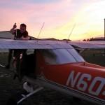 Post flight fuel check ~ Проверка топлива после полётов