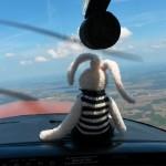 My first Cessna passenger ~ Мой первый пассажир на Цессне