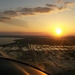 Sunset from the air near Lake Apopka ~ Закаты с воздуха рядом с озером Апопка