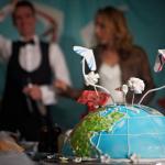 Our wedding cake ~ Наш свадебный торт