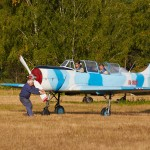 Evgeniy is getting ready to fly ~ Евгений готовится к своему полёту
