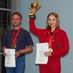 Ekaterina Alekseeva is first in the Yak-52 class ~ Екатерина Алексеева первая в классе Як-52