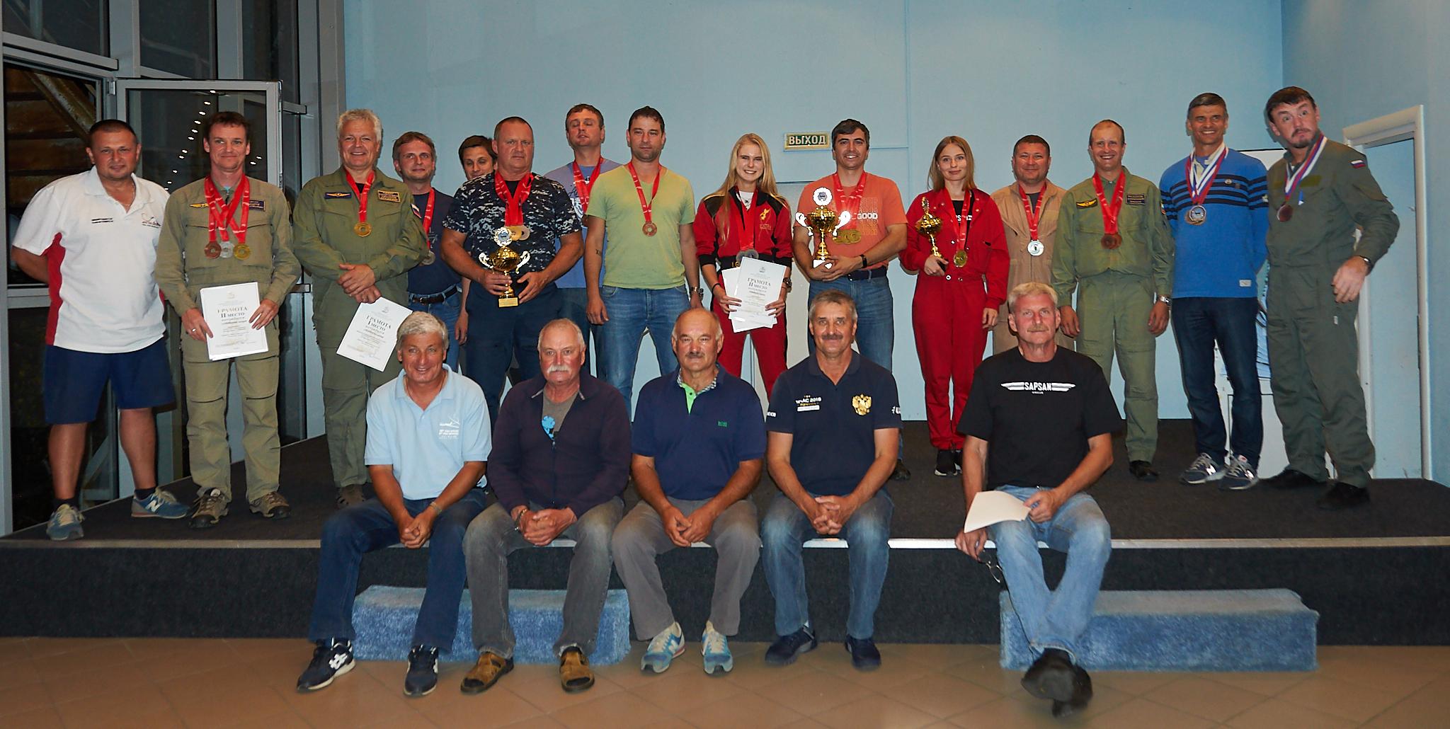 Some winners of  Moscow Region Open Aerobatics Championship 2020 ~ Часть победителей Чемпионата Московской Области 2020