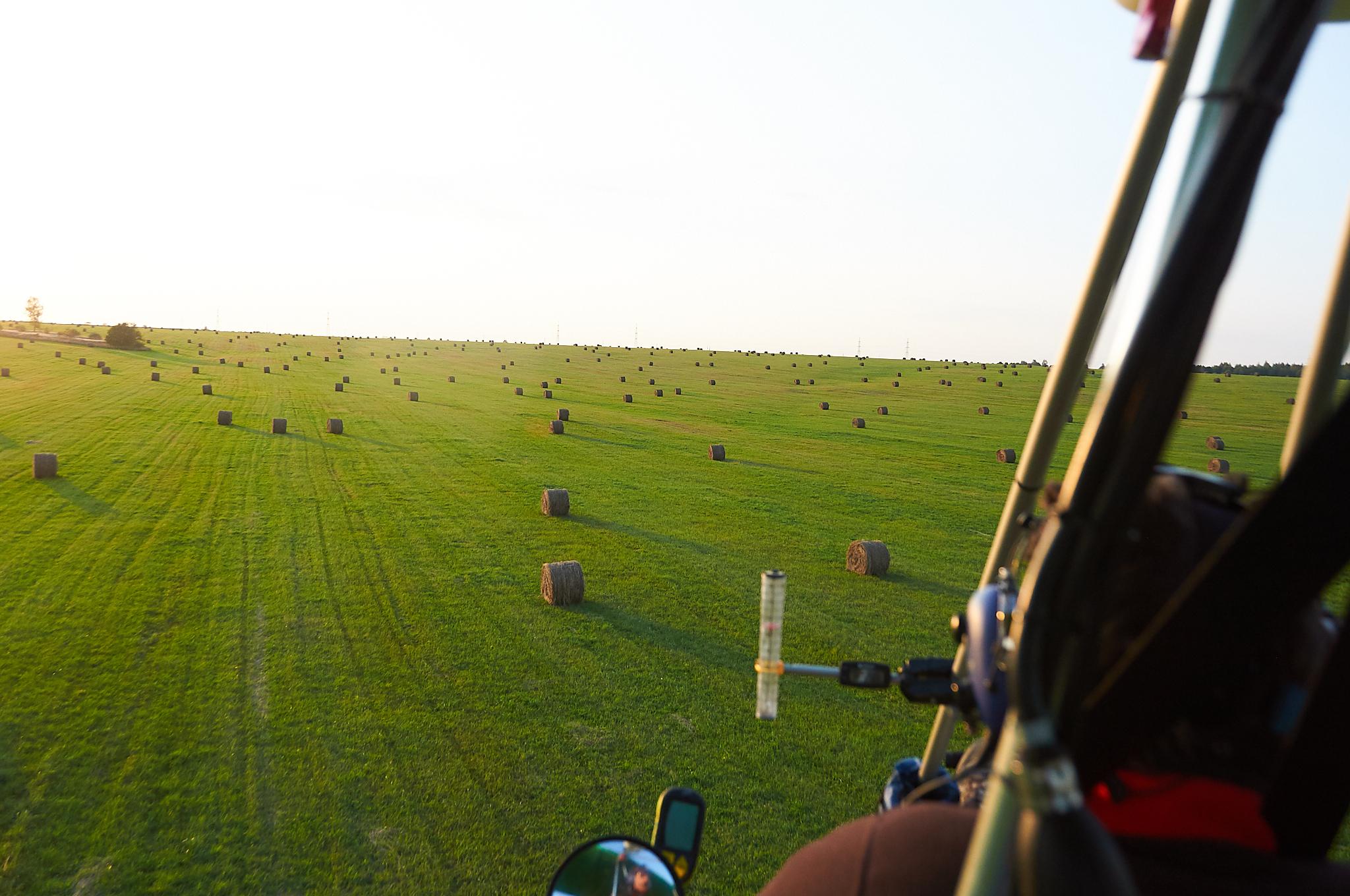 Round hay bales - Катышки? Рулончики?