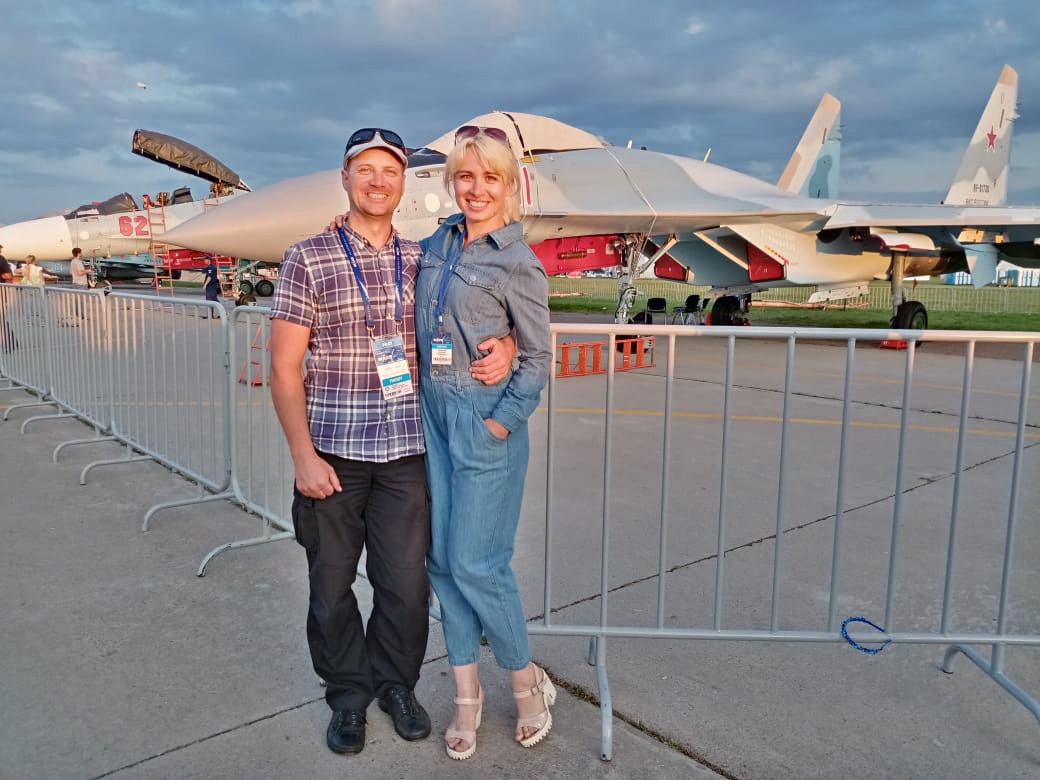 Andrey Yakovlev and Natasha Tumashova ~ Андрей Яковлев и Наташа Тумашова