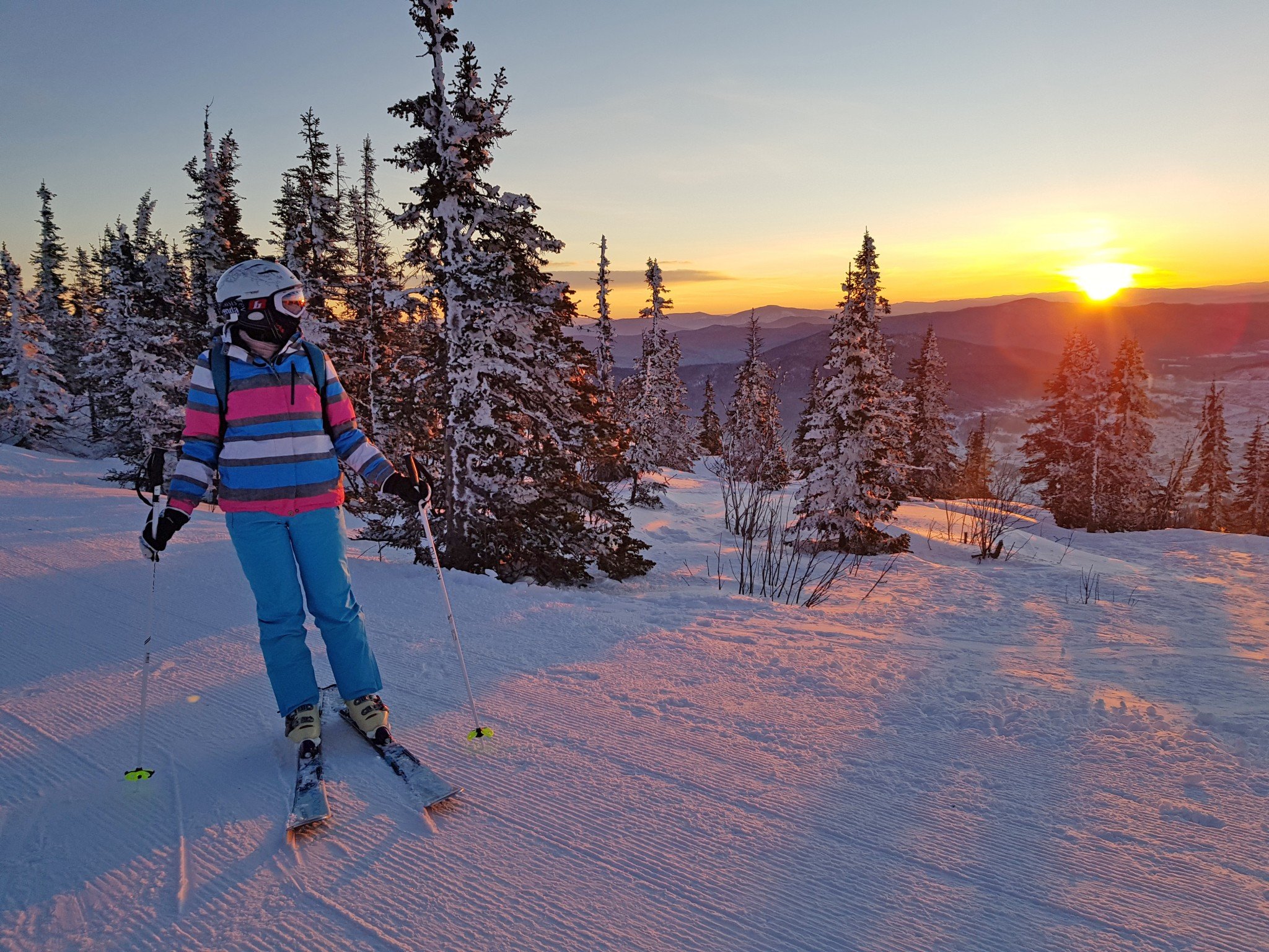 About Stories and the Sheregesh ski resort - О Сторисах и о Шерегеше