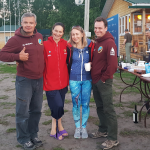 Anton, Larisa, Andrey and I ~ Антон, Лариса, и мы с Андреем