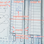 Judges' raw grades of the same flight program ~ На русском ->