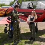 Vladimir Anguladze with me after a flight ~ Вова Ангуладзе и я после полета