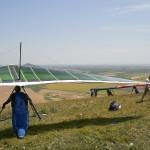 Intermediate hang glider Moyes Gecko ~ Спортивный мачтовый дельт Мойес Гекко