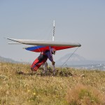 Intermediate hang glider Aeros Discus ~ Спортивный мачтовый дельт Аэрос Дискус