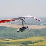 Topless hang glider ~ Безмачтовый дельтаплан