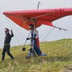 Beginner hang glider ~Учебный дельтаплан