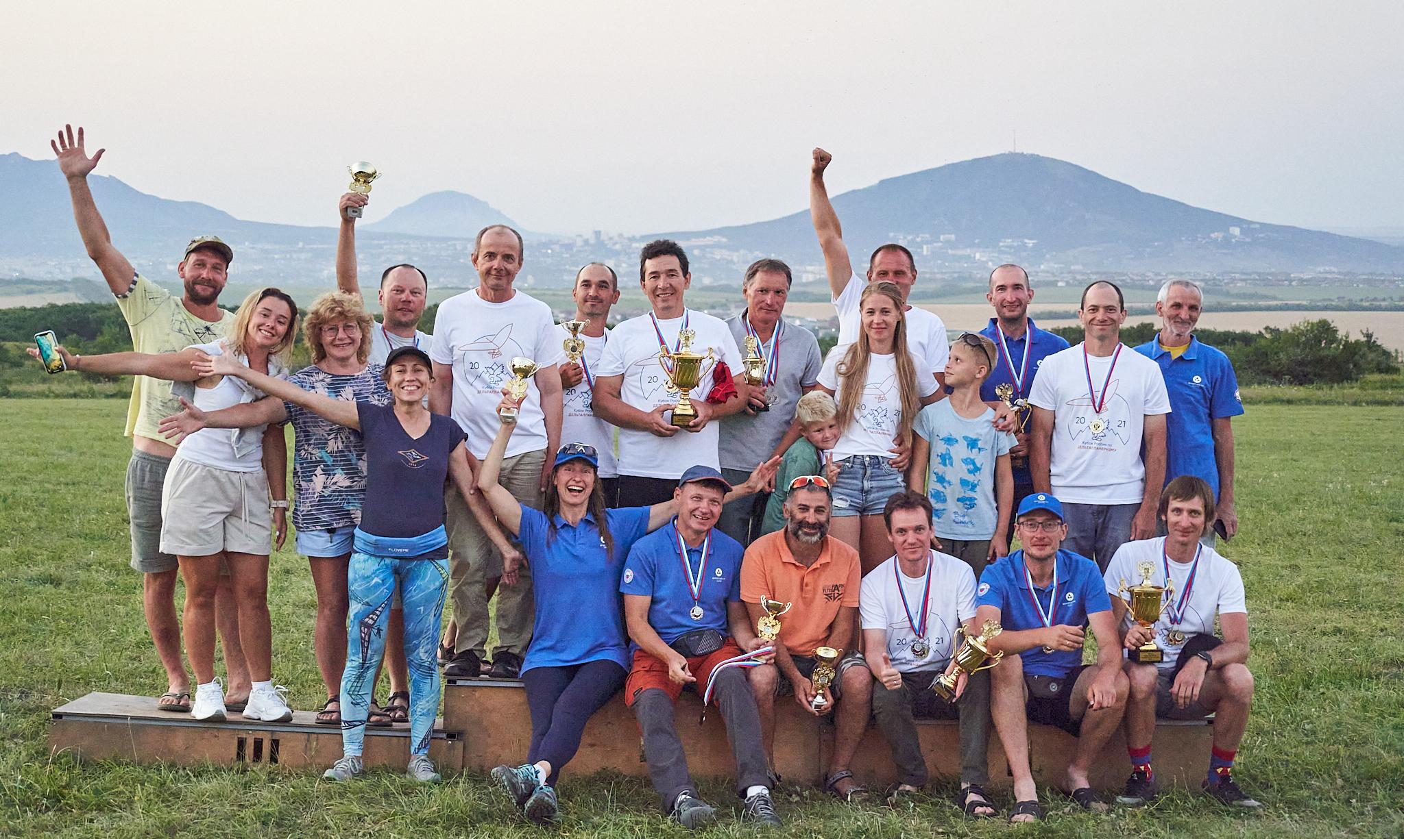 Russian Hang Gliding Cup'21 in Yutsa - Кубок России по дельтапланеризму на Юце