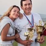Azat and Lilia Masalimova, father and daughter, both pilots ~ Азат и Лилия Масалимовы, отец и дочь, оба пилоты
