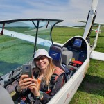 I am in Arcus sailplane ~ Я в Аркусе, фото Антона Минского